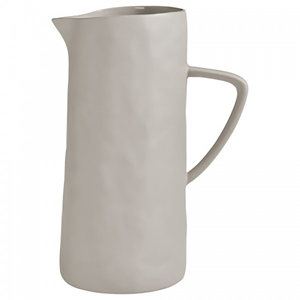 Pitcher L, Water, juice and tea in grey