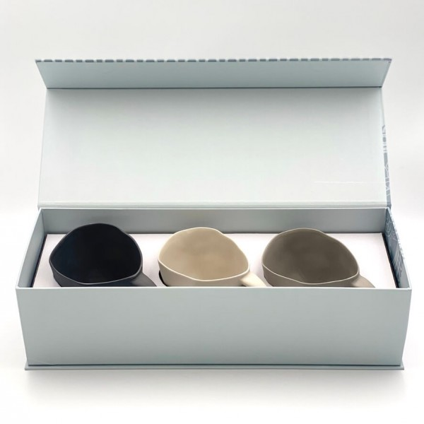 """Gift Box """"3 Cups with handle in XL"""""""